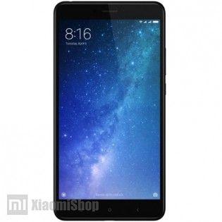 Смартфон Xiaomi Mi Max 2 черный, вид спереди