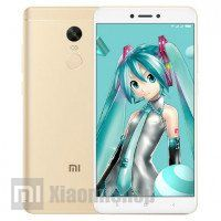 Смартфон Xiaomi Redmi Note 4X золотой