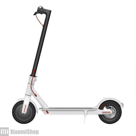 Xiaomi MiJia Electric Scooter белый, вид с боку