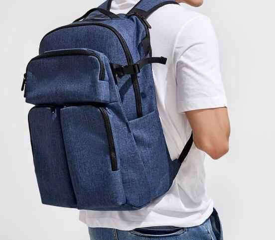 Рюкзак Xiaomi Carbon Travel Shoulder Bag Blue