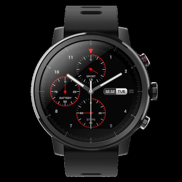 Умные часы Amazfit Stratos Sport Black